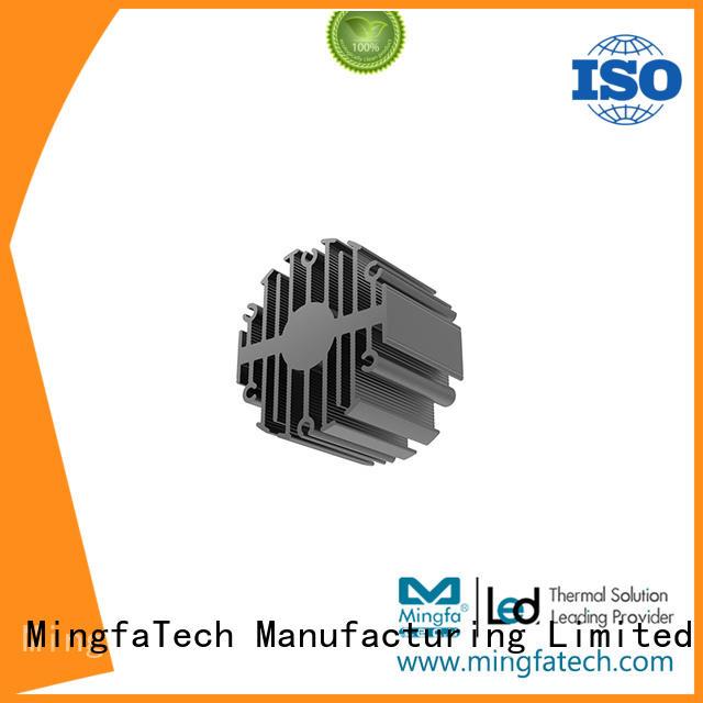extrusion led  coolers Mingfa Tech company