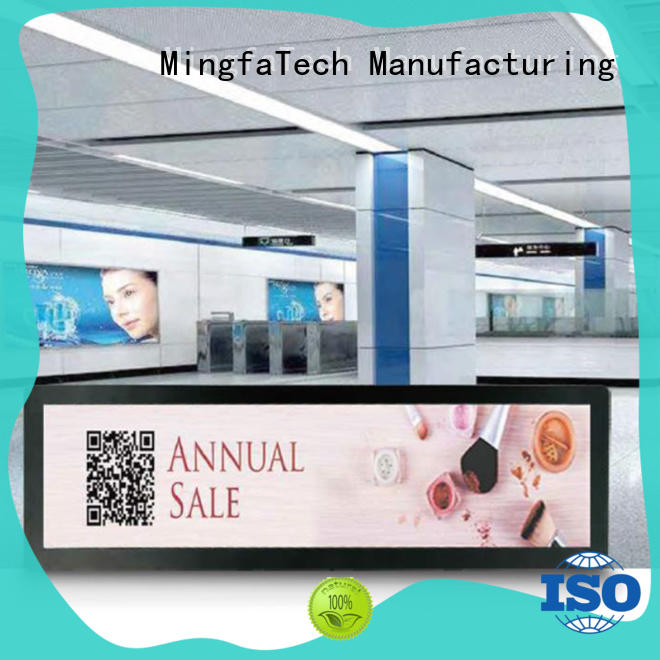 Mingfa Tech lcd signage factory price for station