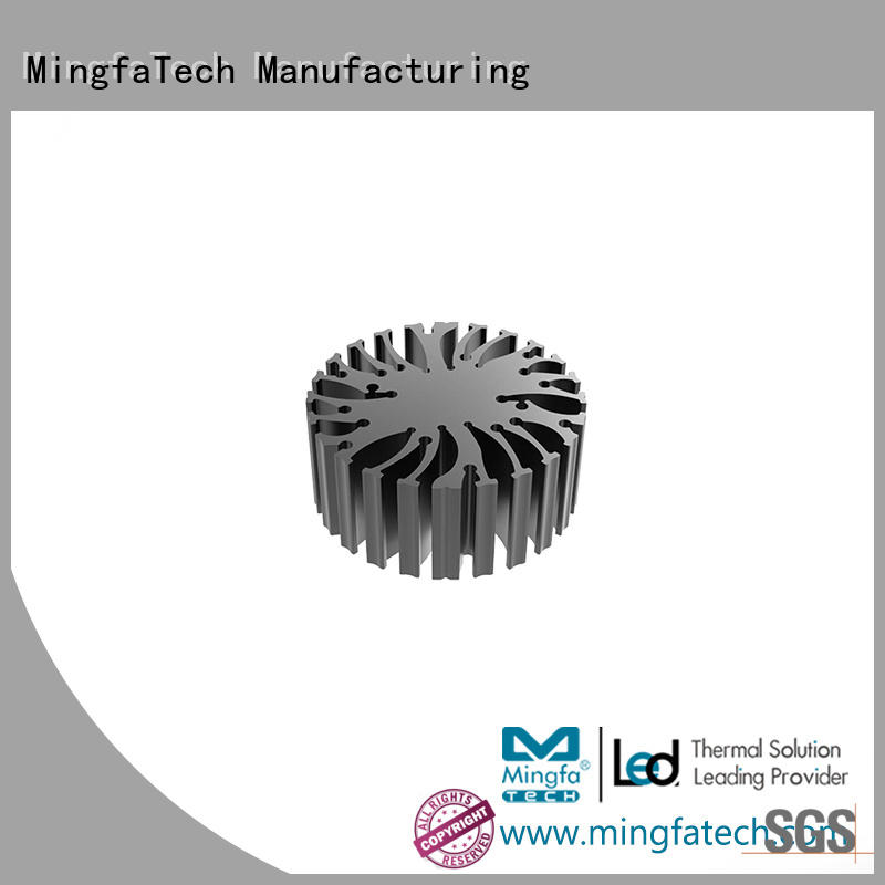 Mingfa Tech extrusion high power led heat sink design customize for indoor
