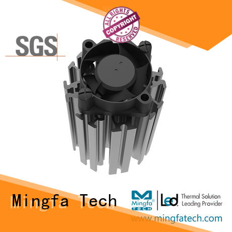 Mingfa Tech actiledf7070 electronic heat sink customized for roadway