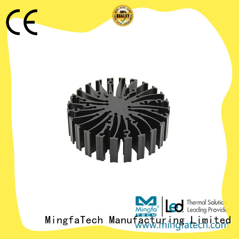 Mingfa Tech DIY 10 watt led heat sink design for airport