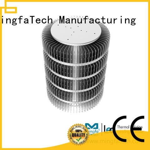 Mingfa Tech architectural extruded aluminum heatsink design for hotel