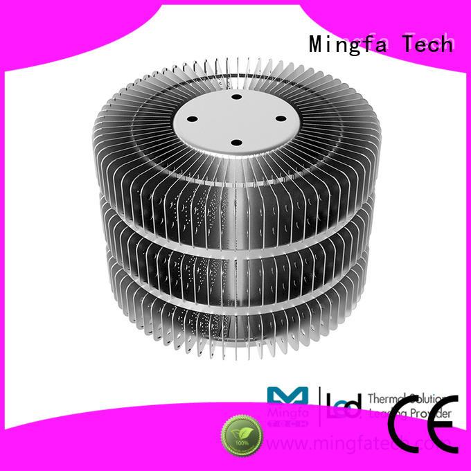 area 100w heatsink design for airport Mingfa Tech