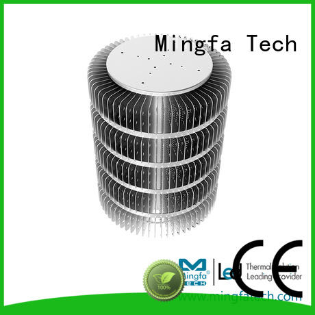 clear high bay heat sink stamping for station Mingfa Tech