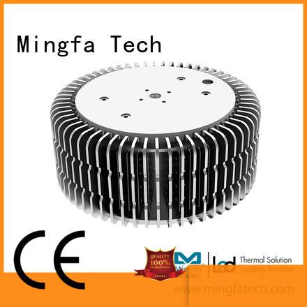 Mingfa Tech fastening 100 watt led heat sink design for station