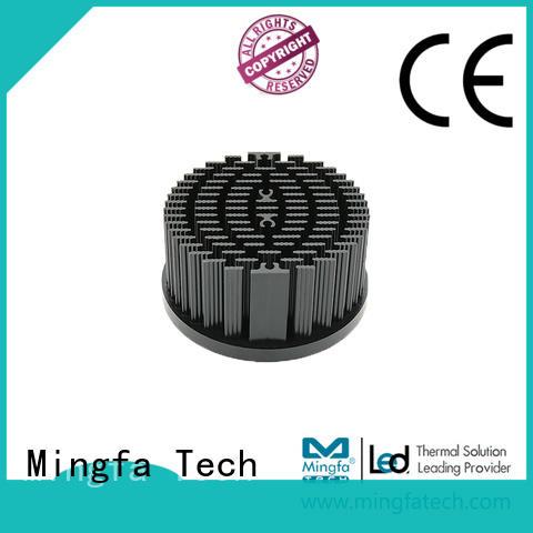 Mingfa Tech aluminum round heat sink manufacturer for mall
