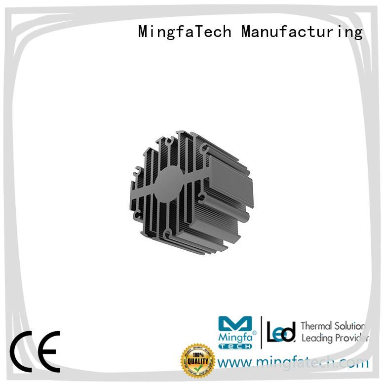 Mingfa Tech aluminum heat sink compound for led manufacturer for landscape