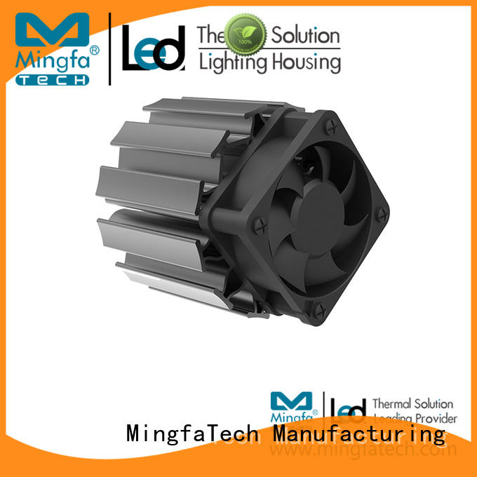 active heat sink extruded for horticulture Mingfa Tech
