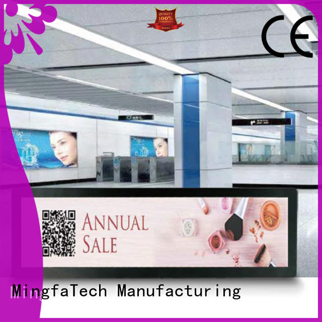 excellent lcd signage personalized for airport