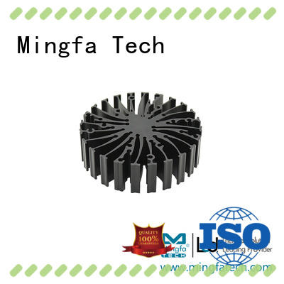 automotive water cooled heat sink extruded design for indoor