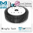 Mingfa Tech large led heat dissipation anodized for airport