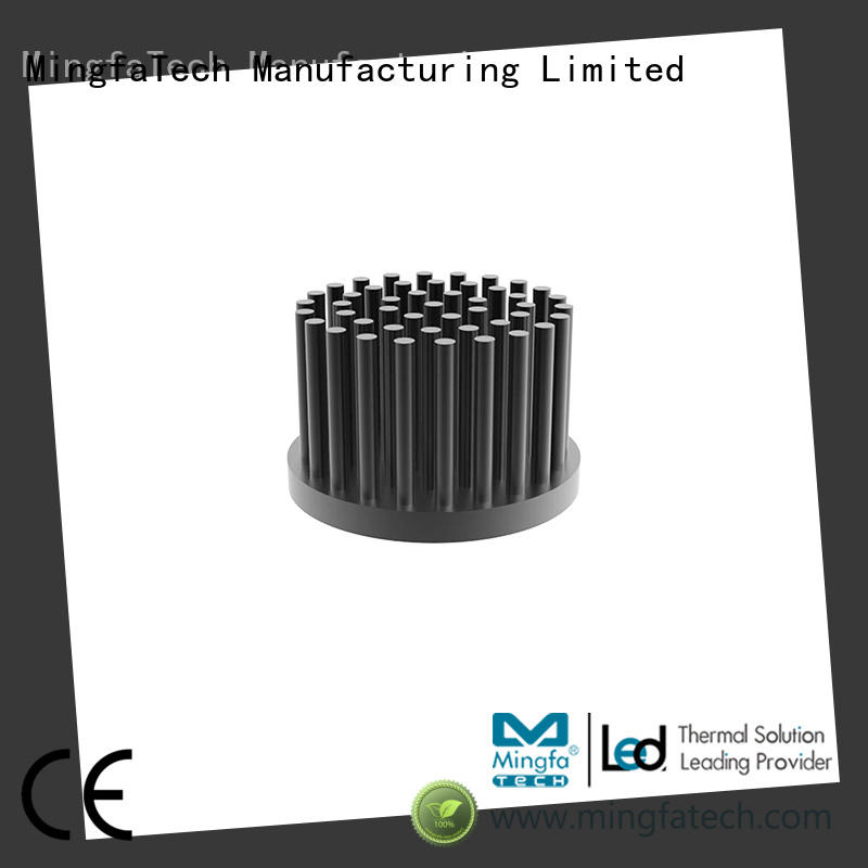 Mingfa Tech led heat sink cost anodized for retail