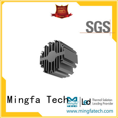 Mingfa Tech passive homemade heatsink design for museums