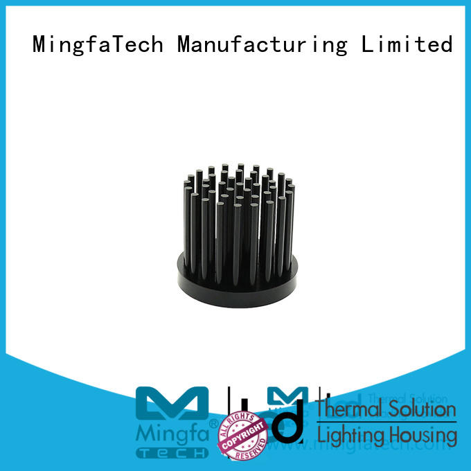 Mingfa Tech sink led heatsink housing manufacturer for parking lot