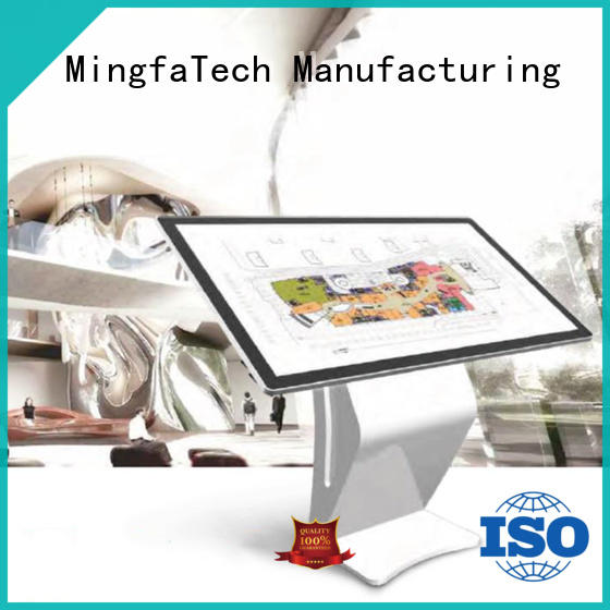 Mingfa Tech approved digital signage stand for indoor