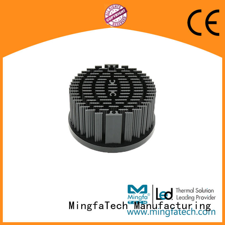 heat sink fin design aluminum cold pinfin Warranty Mingfa Tech