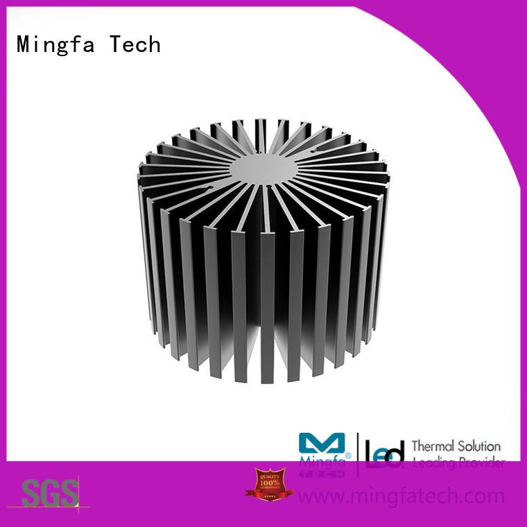 Mingfa Tech anodized big heatsink customize for bedroom
