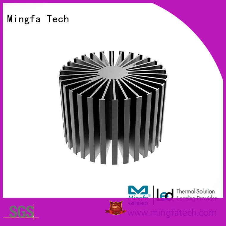 Mingfa Tech anodized big heatsink customize for bedroom