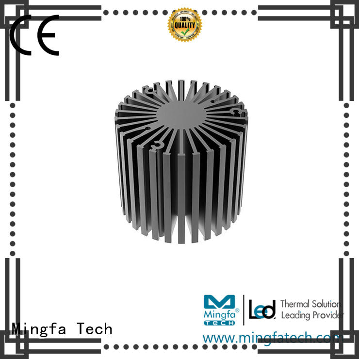 Mingfa Tech extruded large heat sink design for warehouse