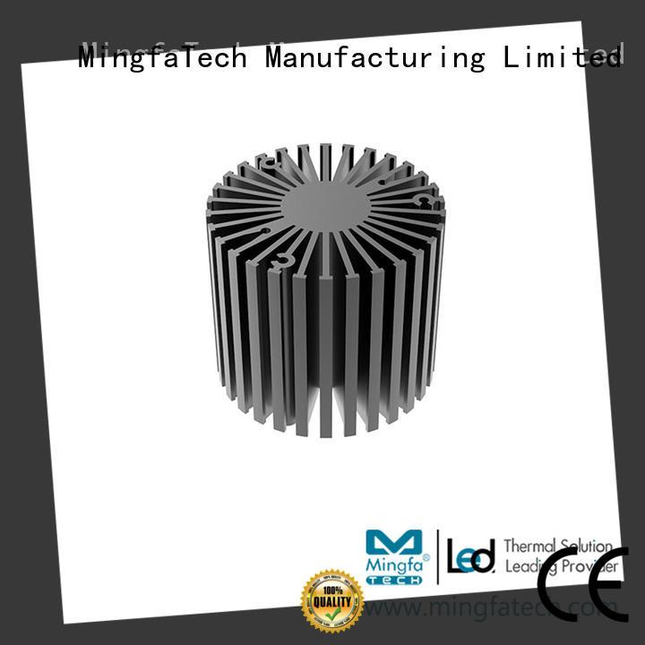spinning mini heatsink al6063t5 customize for warehouse