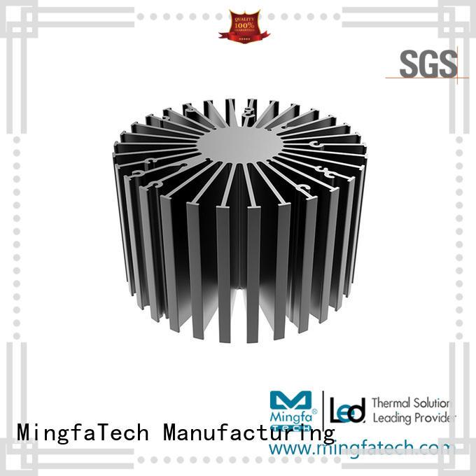 Mingfa Tech extruded big heatsink supplier for bedroom