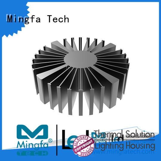 Mingfa Tech anodized big heatsink customize for cabinet