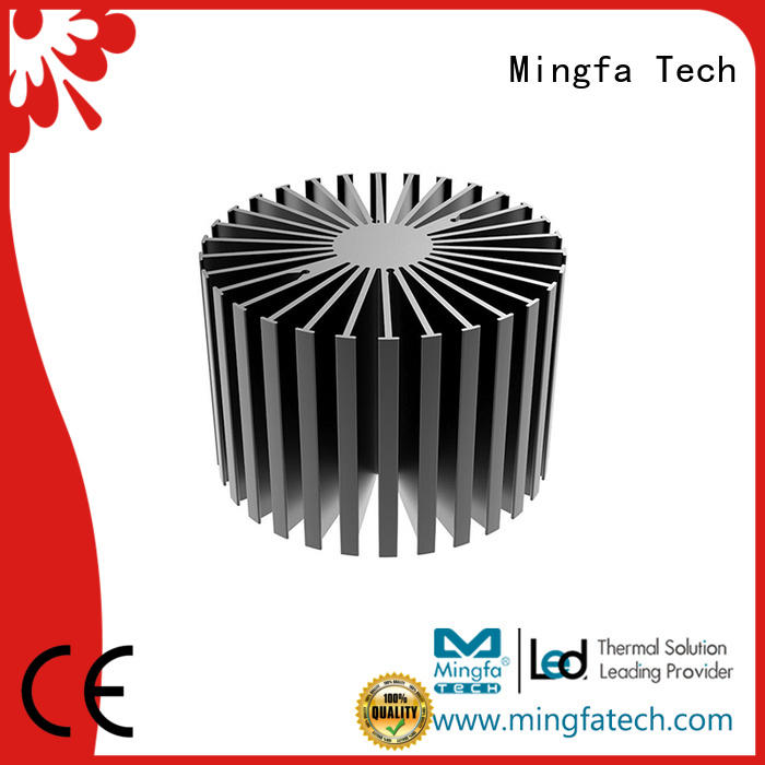 Mingfa Tech anodized large heat sink customize for bedroom