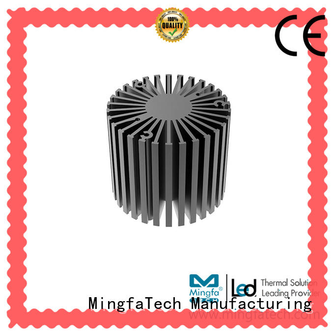 anodized large heat sink extruded design for cabinet