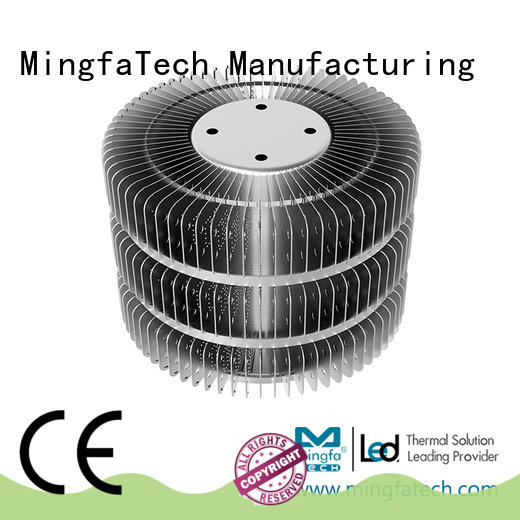 Mingfa Tech architectural 100w heatsink stamped for airport