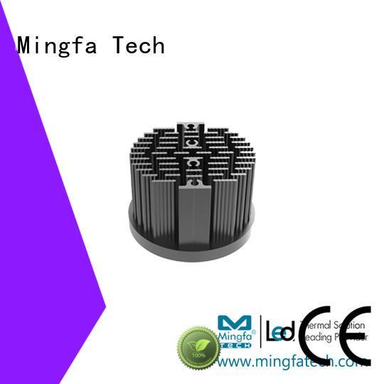 CNC machining heat sink applications pinfin supplier for roadway