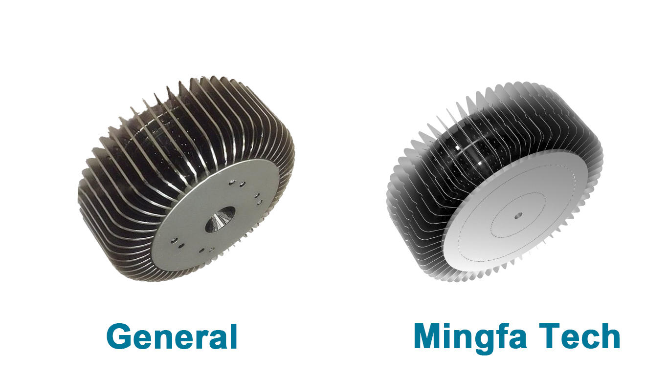 Mingfa Tech hibayled24088 extruded aluminum heatsink supplier for indoor-3
