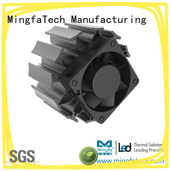 Mingfa Tech white electronic heat sink manufacturer for mall