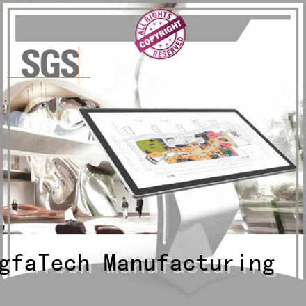 elegant lcd signage personalized for indoor