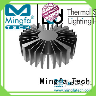 aluminum large heat sink supplier for bedroom