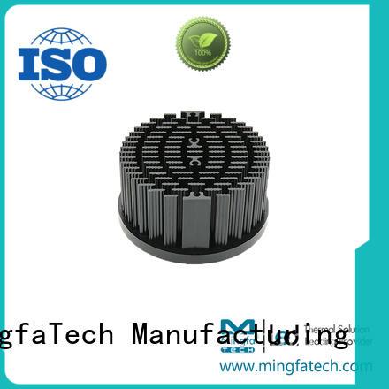 Mingfa Tech standard round heat sink supplier for roadway