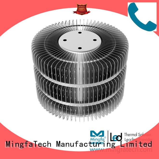 passive Custom coolers sinks  Mingfa Tech extrusion