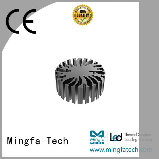 Mingfa Tech diy heatsink customize for mall