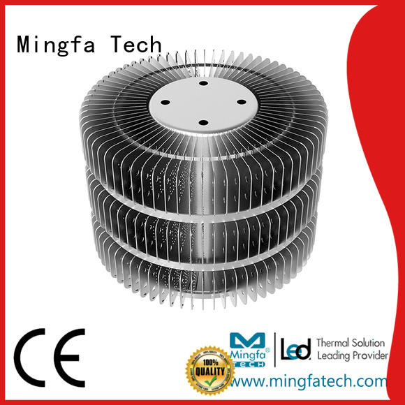 Mingfa Tech area led bulb heat sink manufacturer for station