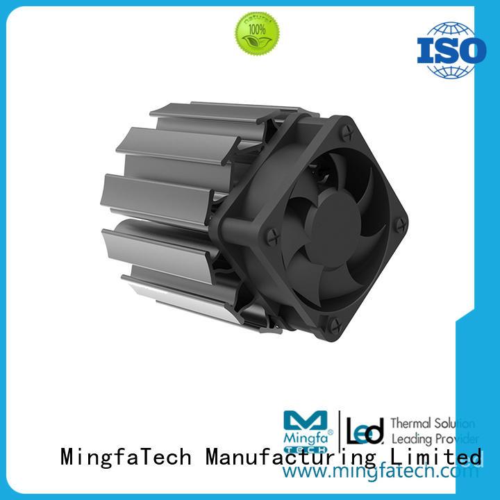 Mingfa Tech aluminum led strip heat sink manufacturer for roadway