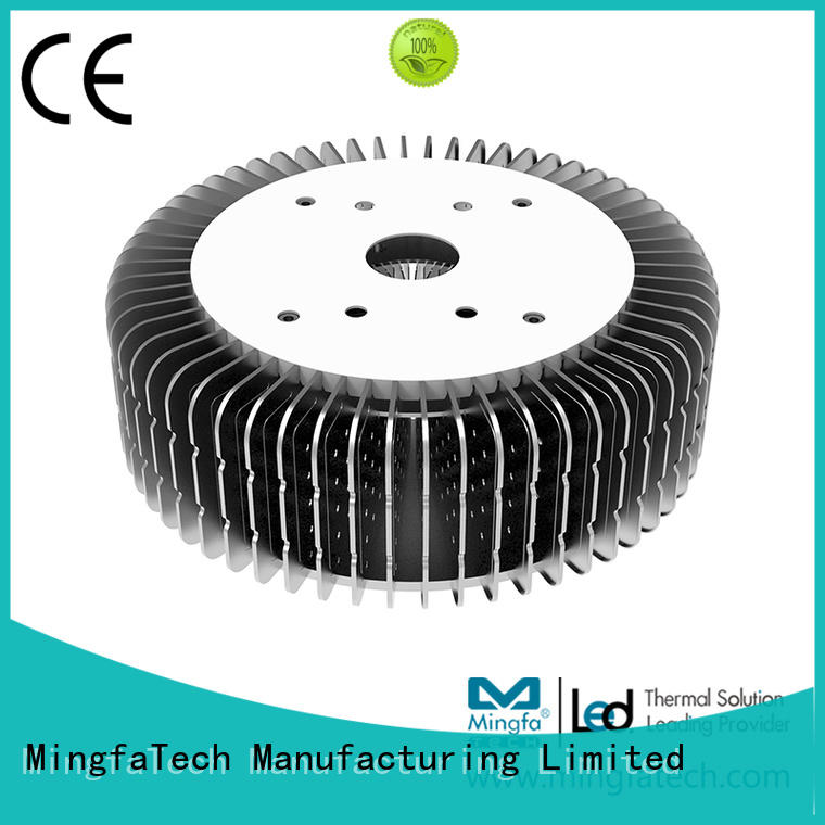 Mingfa Tech coolers pin heatsink supplier for airport