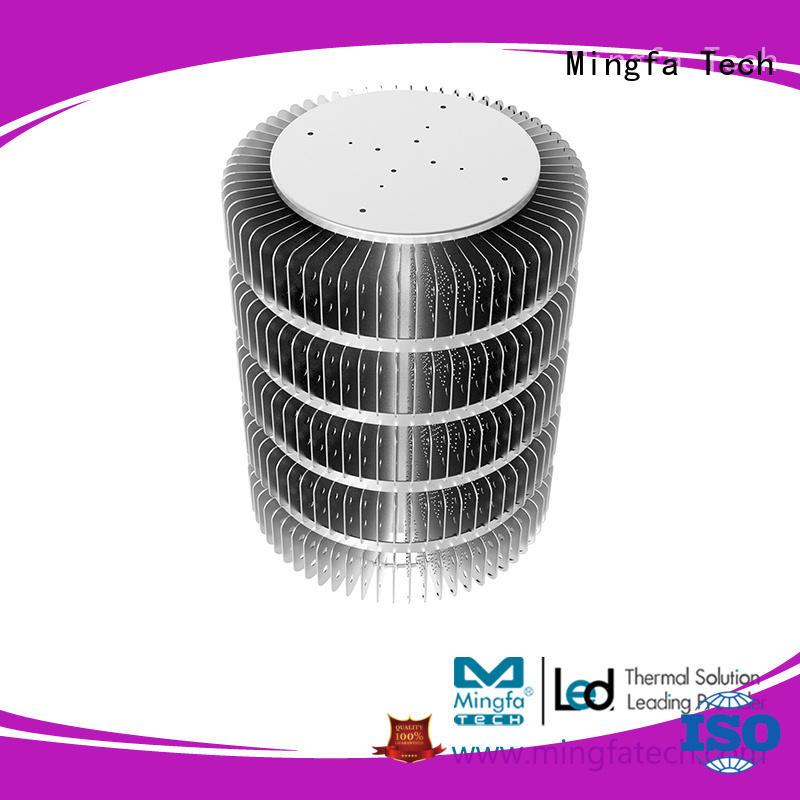 Mingfa Tech hibayled265130265195265260 extruded aluminum heatsink design for station