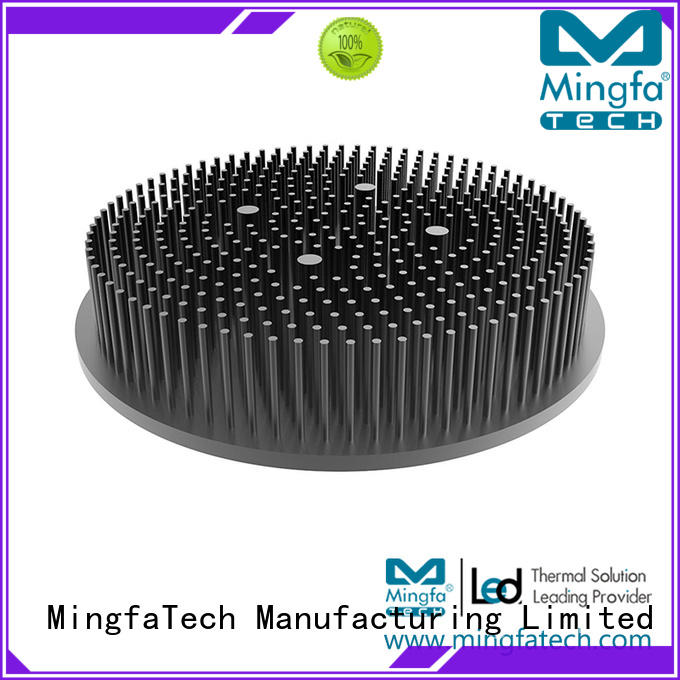 large coolers thermal heat sink fin cob Mingfa Tech company