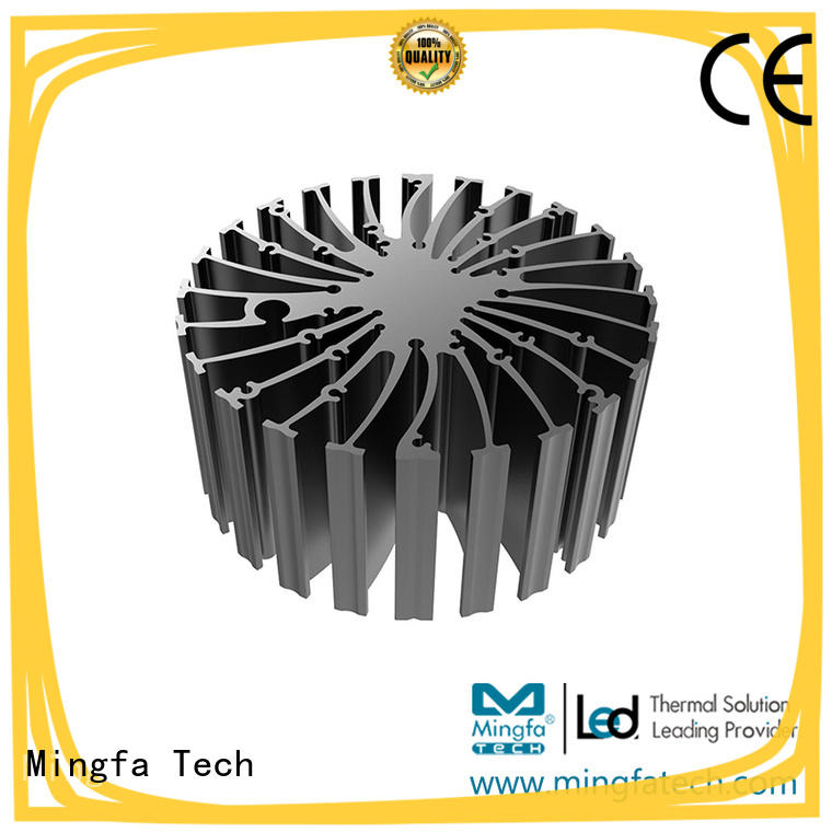 Indoor heat sink material cylindrical customize for indoor