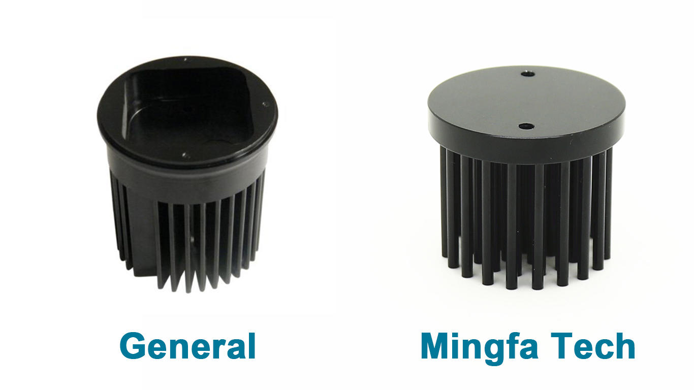Mingfa Tech-10w Led Heatsink | Gooled-3530 Round Cold Forged Led Star Heat Sink - Mingfatech-1