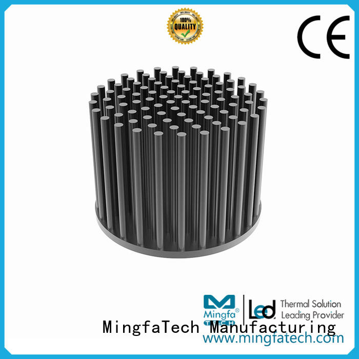 Mingfa Tech coolers thermal heat sink anodized for retail
