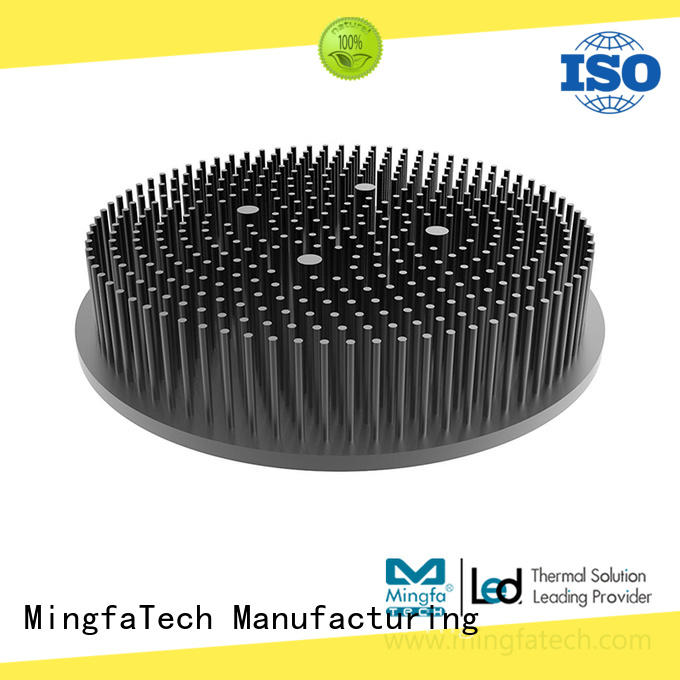 Mingfa Tech flat heat sink definition forging for landscape