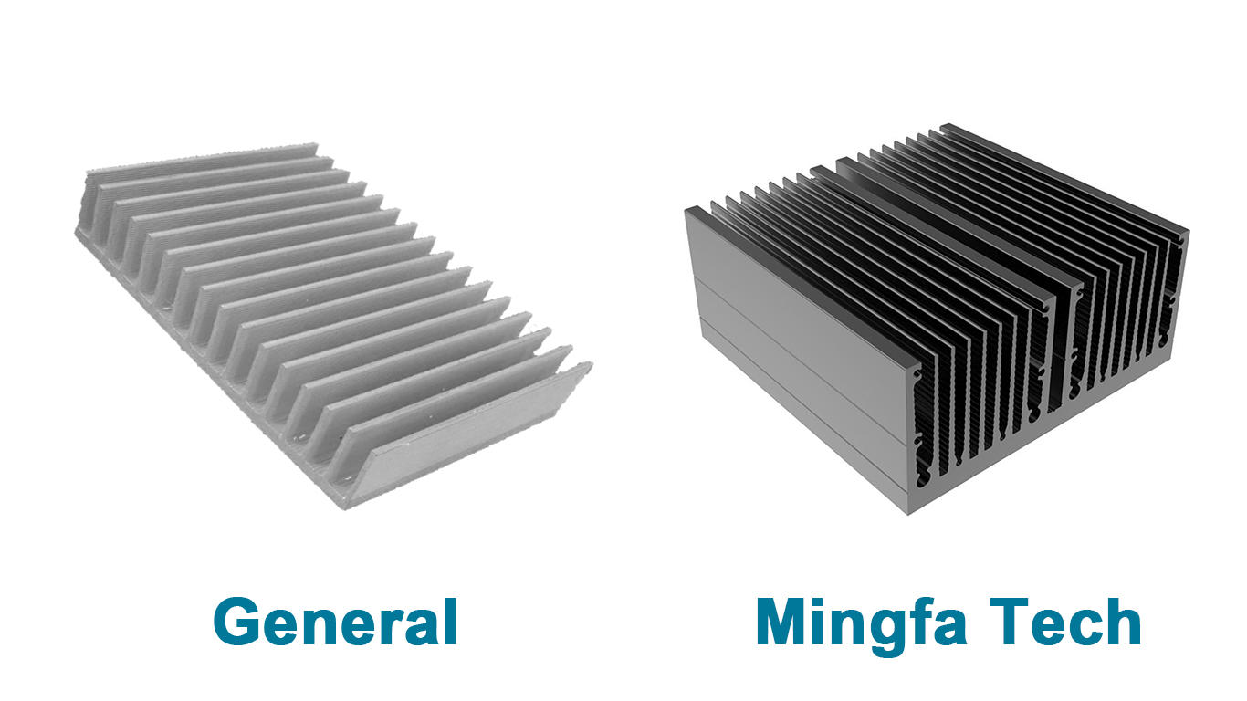 Mingfa Tech CNC machining aluminum heatsinks manufacturer for retail-2