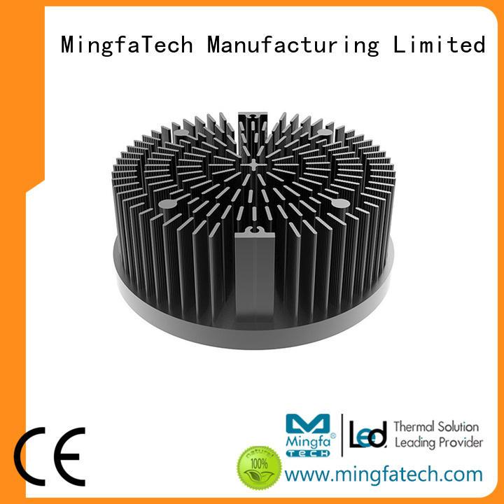 Mingfa Tech aluminum large aluminum heat sink design for roadway