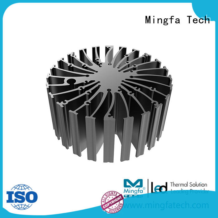 cylindrical small heat sink design for airport Mingfa Tech