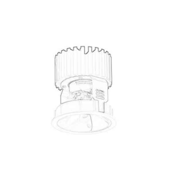 Mingfa Tech-Find Large Copper Heatsink, Professional 4 Can Light Housing